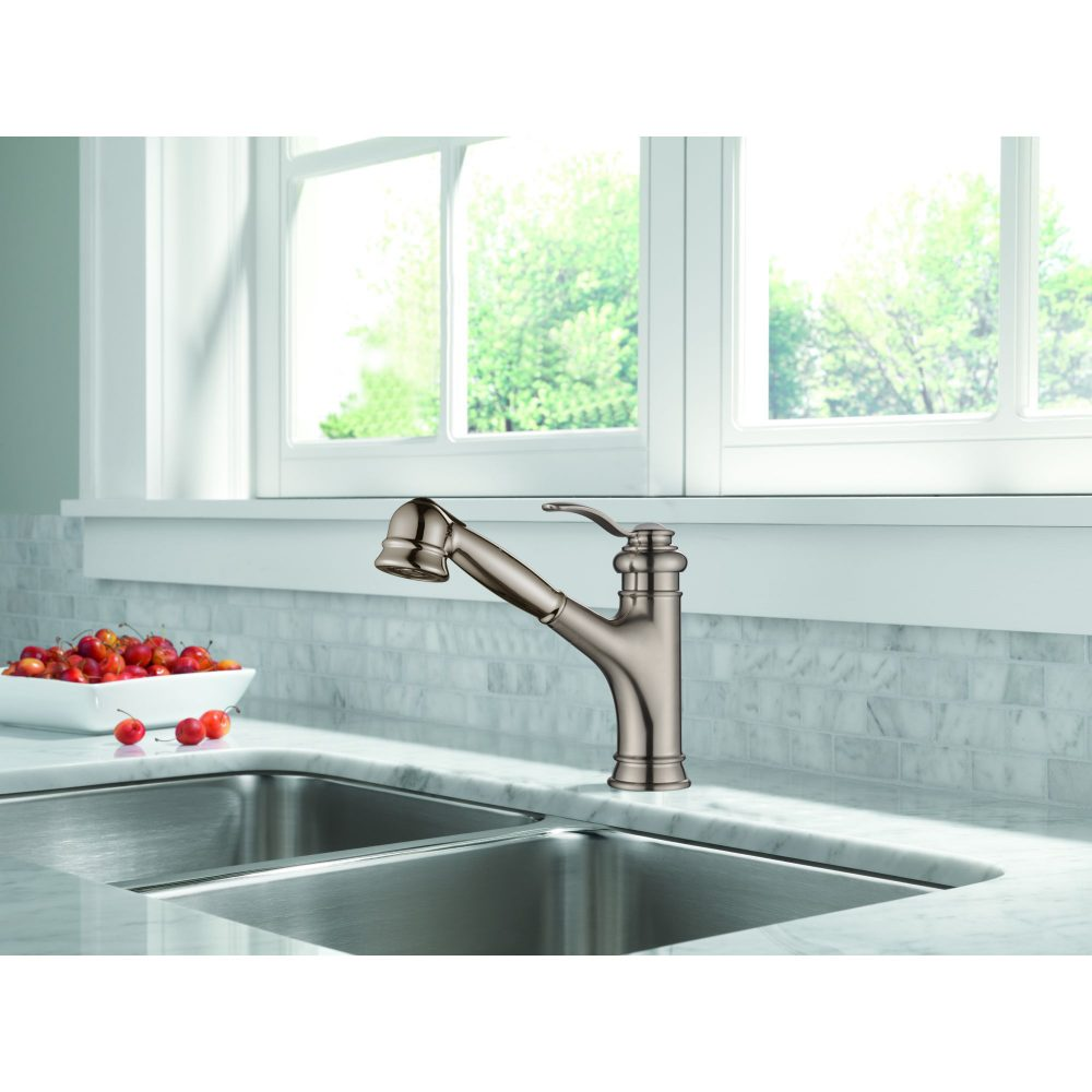 Single Handle Pull-Out Kitchen Faucet -KSK1001C – OAKLAND