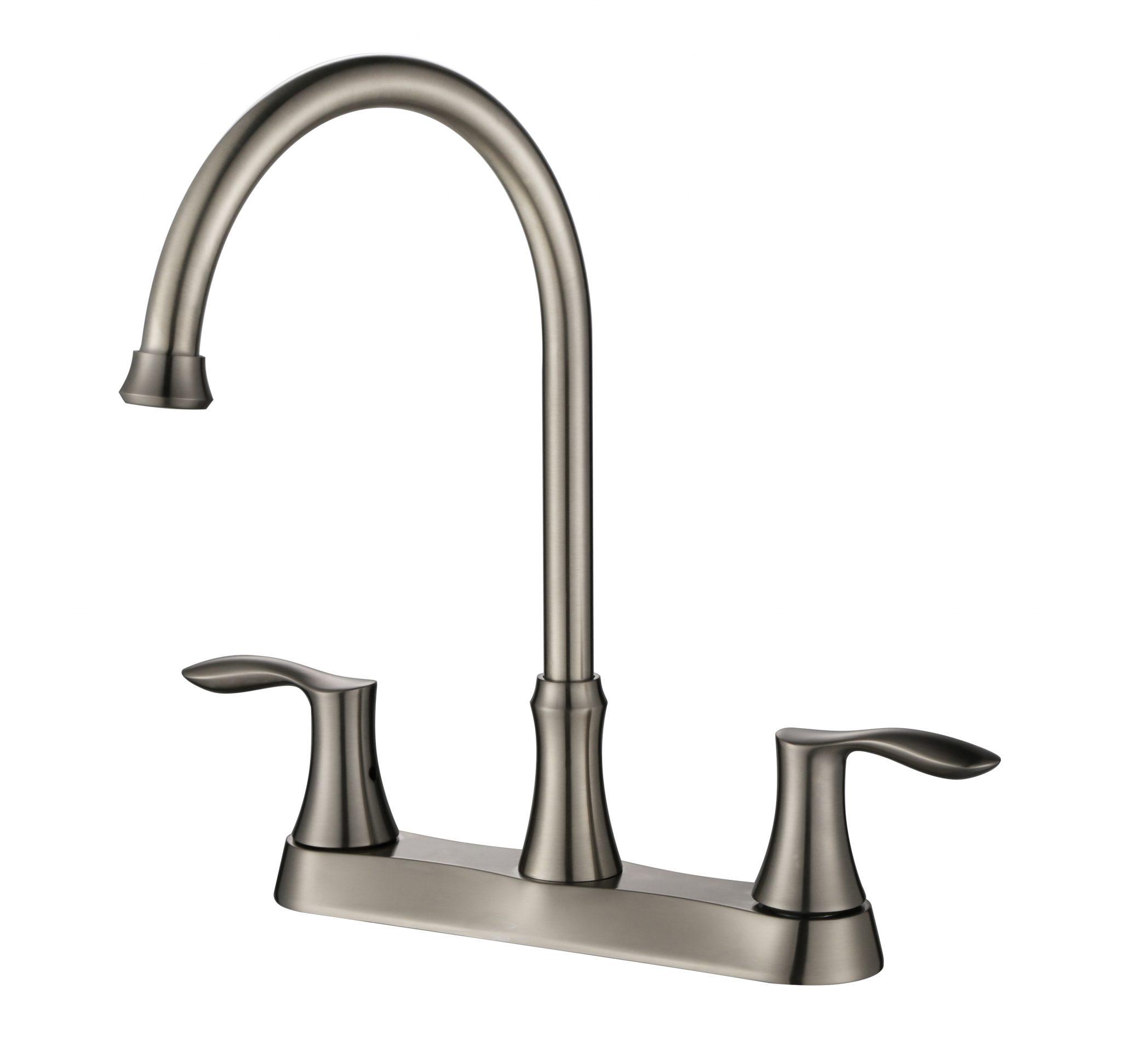 8u2033Centerset Two Handle Kitchen Faucet  KSK8238BN