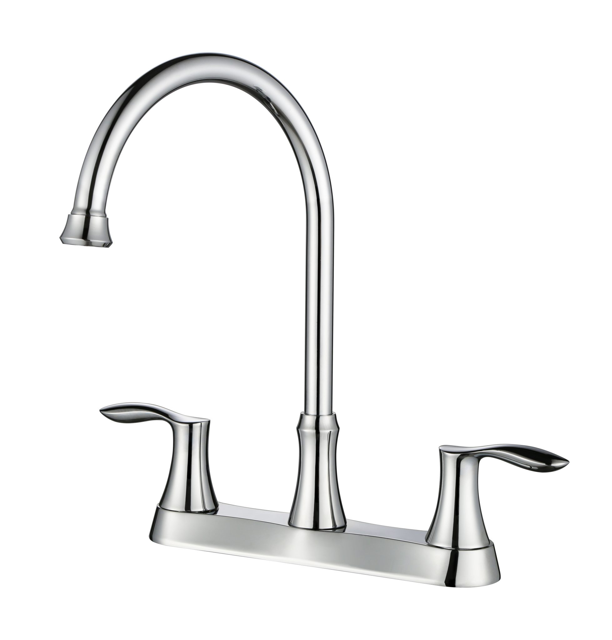 8u2033Centerset Two Handle Kitchen Faucet  KSK8238C